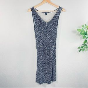 Ann Taylor Printed Sleeveless Dress